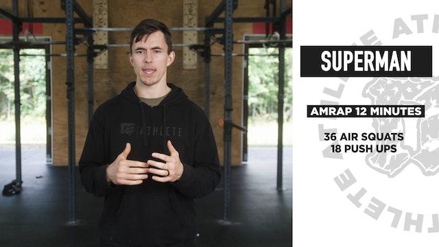 Superman Bodyweight