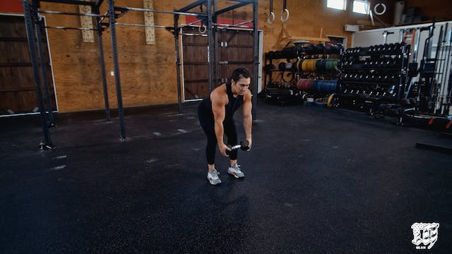 Dumbbell Two Hand Bent Row