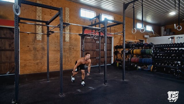 Burpee Bar Muscle Up