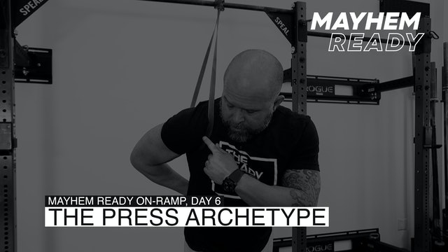 Day 6 The Press Archetype