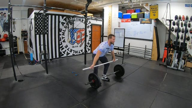 Coaching Power Snatches Cycling