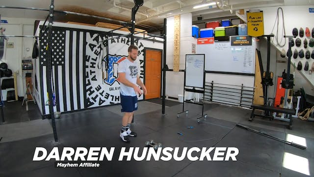 Coaching Dumbbell Thrusters