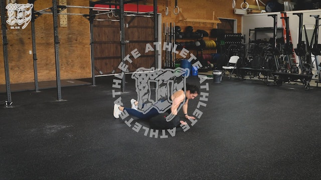 Backpack Lateral Burpee