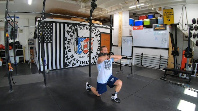 Coaching Kettlebell Lunges