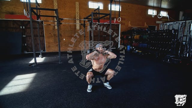 Double KB Front Squat