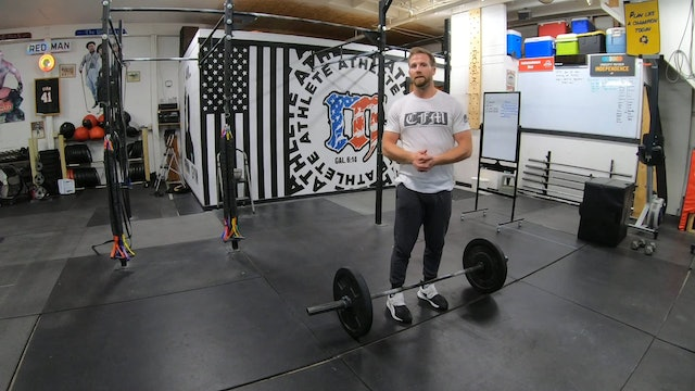 Coaching Barbell Movements