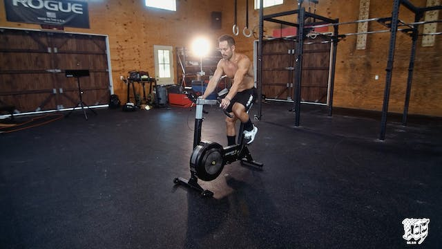 Seated Bike Erg