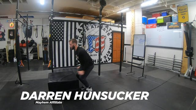 Coaching Box Jumps