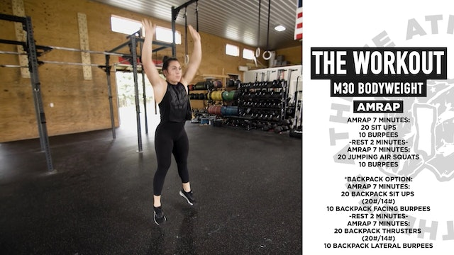 The Workout Bodyweight