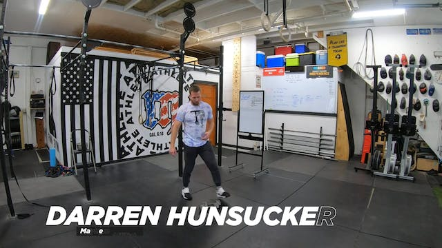Coaching Burpee Over Dumbbell