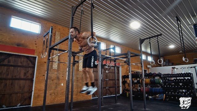 Burpee Ring Muscle Up