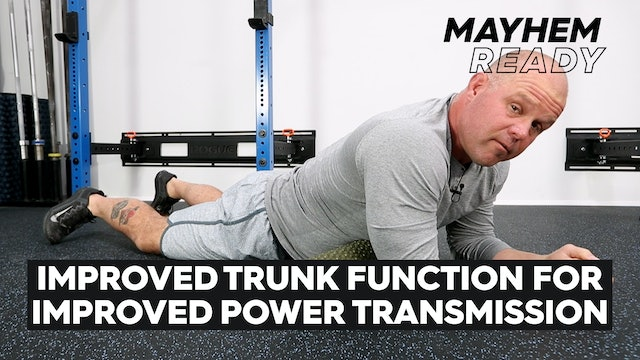 Improved Trunk Function For Power Transmission