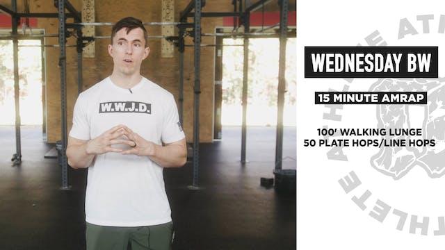 Wednesday Bodyweight