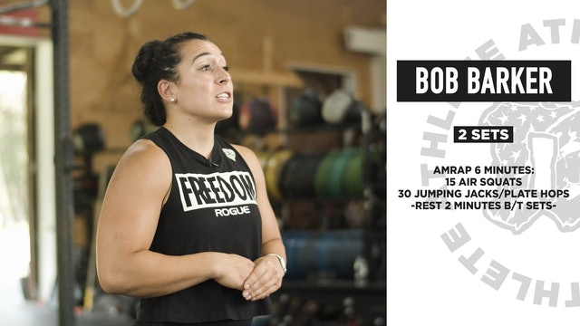 Bob Barker Bodyweight