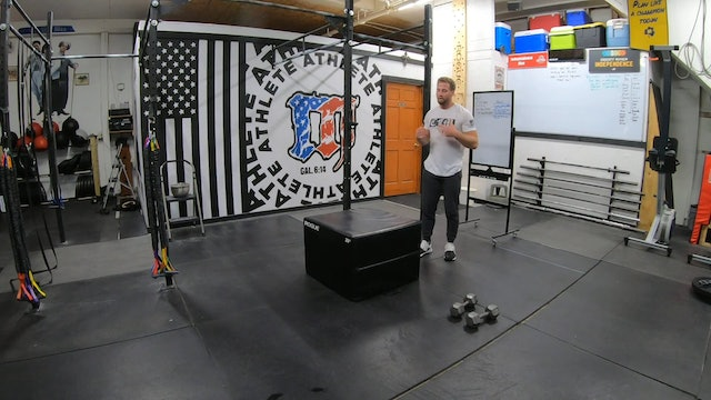 Coaching The Box Jump Over