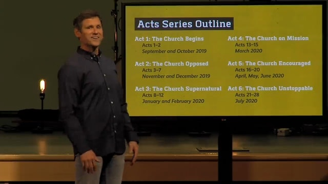 Hope Bible Church | The Church Encouraged! - The Book of Acts