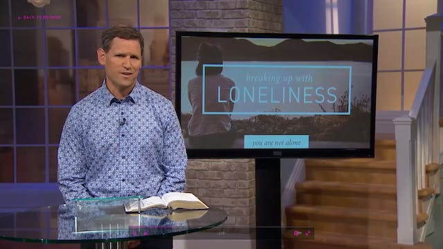 Loneliness Replaced - Pastor Robbie S...