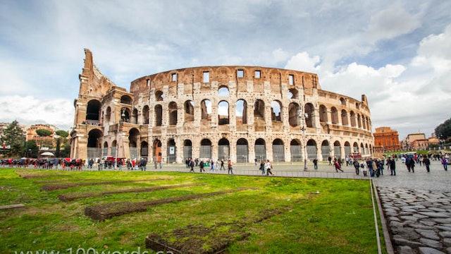 100 Words - YR1 January 5 - Rome