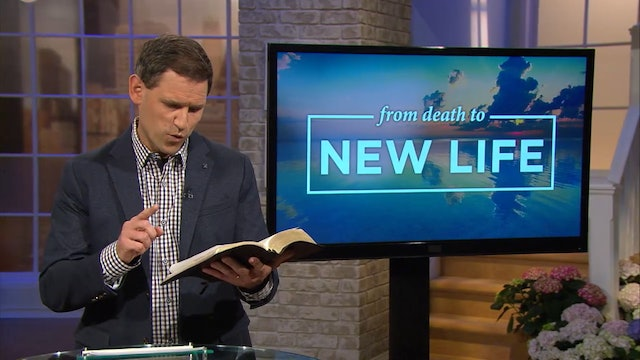 Live For Him! - Pastor Robbie Symons - From Death to New Life