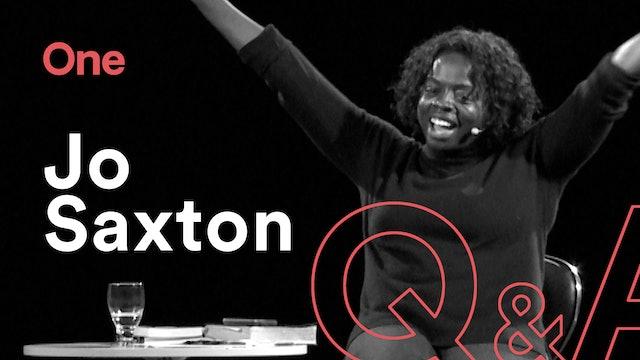 ONE 2020 | Jo Saxton