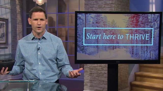 Start here To Thrive - Pastor Robbie Symons - In all that He does He prospers