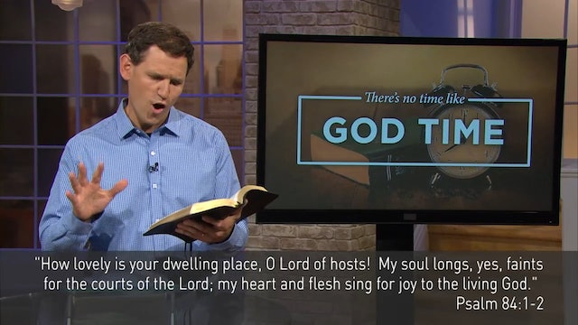 There's No Time Like God Time-Pastor Robbie Symons - Dwelling Place