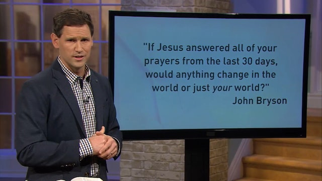 What's the Base of Your Prayers? - Pastor Robbie Symons - Heaven on Earth