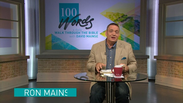 100 Words - Ron Mainse - September 29 2017 - The Rule Of The Law