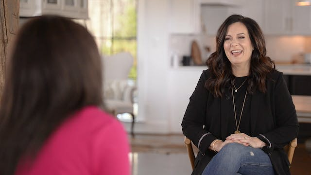 Lysa Terkeurst Interview with Maggie ...