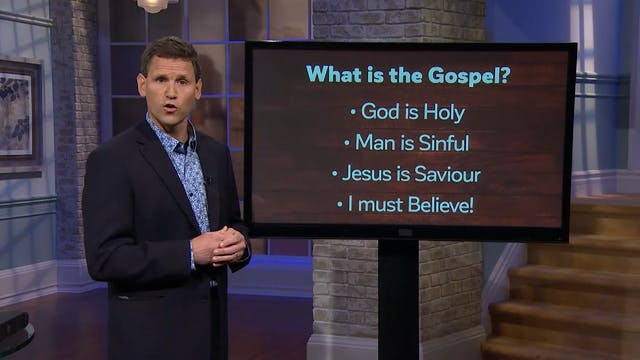 What is the Gospel? - Pastor Robbie S...