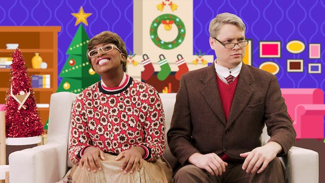 An Auntie Dee & Leo-nard Christmas Story