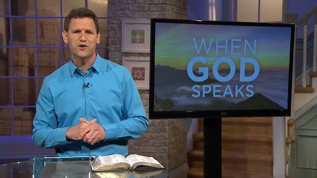 When God Speaks - Pastor Robbie Symon...
