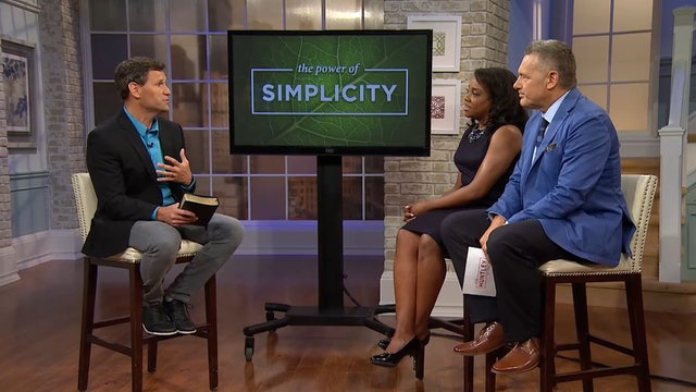 The Power Of Simplicity- Pastor Robbie Symons - Learning to Unplug