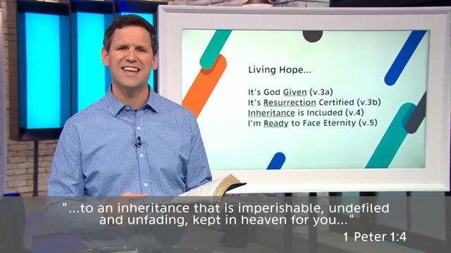 Living Hope - Pastor Robbie Symons - Part 4