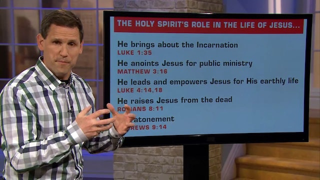 Who is the Holy Spirit - Pastor Robbie Symons - Part #4