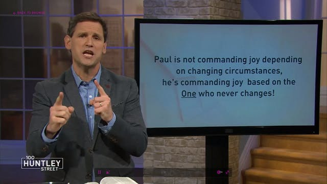 Joy's Rise and Fall - Pastor Robbie S...