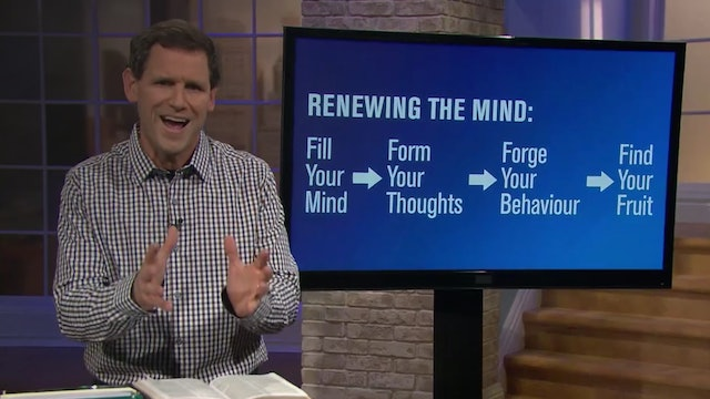 To Renew Your Mind, Look Up - Pastor Robbie Symons - Seek the Things Above
