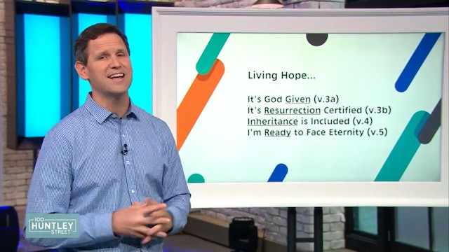 Living Hope - Pastor Robbie Symons - Part 5