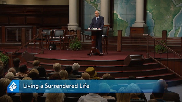 In Touch with Dr. Charles Stanley  - Living a Surrendered Life - March 08, 2020