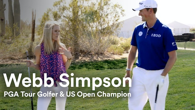 U.S. Open Champion Golfer, Webb Simpson