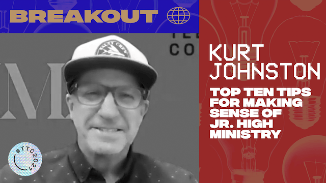 BREAKOUT | TOP 10 JR. HIGH MINISTRY TIPS