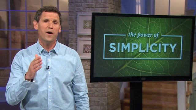 The Power Of Simplicity- Pastor Robbie Symons - Your Worth is in Jesus Christ