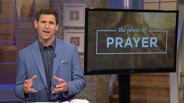 The Power Of Prayer - Pastor Robbie Symons - His Vitality Flows Through Us