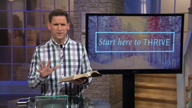Start here To Thrive - Pastor Robbie Symons - Choosing the Right Path in Jesus