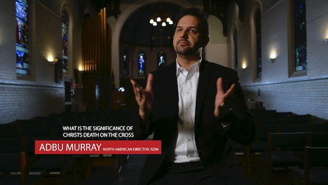 RZIM - Abdu Murry - Significance of Christ's death on the cross