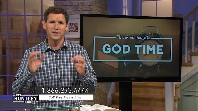 There's No Time Like God Time-Pastor Robbie Symons-Spending Time With God Daily