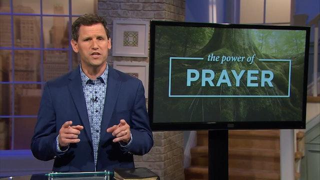 The Power Of Prayer - Pastor Robbie Symons - The Word of God