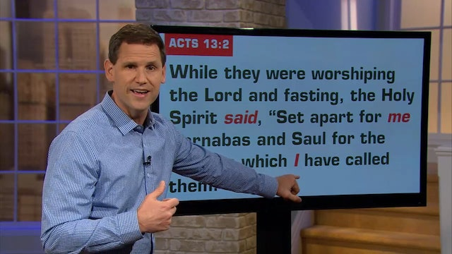 Who is the Holy Spirit - Pastor Robbie Symons - Part #2