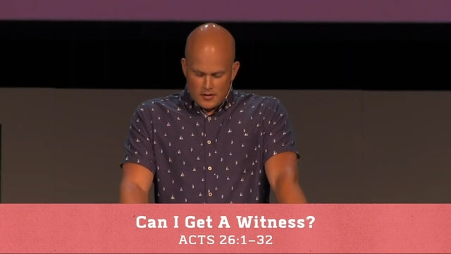 Hope Bible Church | Can I Get A Witness - The Book of Acts