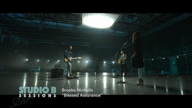 BLESSED ASSURANCE | Brooke Nicholls